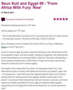 Seun Kuti Review